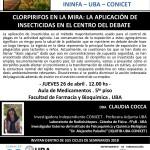 SEMINARIO ININFA-DTO FARMACOLOGÍA 26 de abril 2018 . Dra. Claudia Cocca