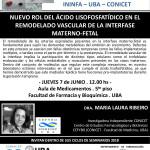 SEMINARIO ININFA-DTO FARMACOLOGÍA 7 de Junio  2018 . Dra. Maria Laura Ribeiro