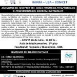 SEMINARIO ININFA-DTO FARMACOLOGÍA 26 de Julio . QUIROGA - IQUIFIB
