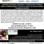 SEMINARIO ININFA-DTO FARMACOLOGÍA 5 DE JULIO. DRA. MONICA COSTAS