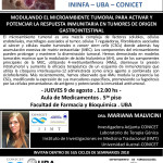 SEMINARIO ININFA-DTO FARMACOLOGÍA 9 de agosto - DRA MARIANA MALVICINI