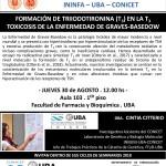 SEMINARIO ININFA-DTO FARMACOLOGÍA 30 DE AGOSTO Dra. CINTIA CITTERIO - INIGEM