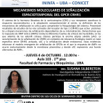 SEMINARIO ININFA-DTO FARMACOLOGÍA 4 DE OCTUBRE SUSANA SILBERTEIN